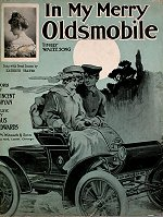 Sheet music to 'In My Merry Oldsmobile', 1905.